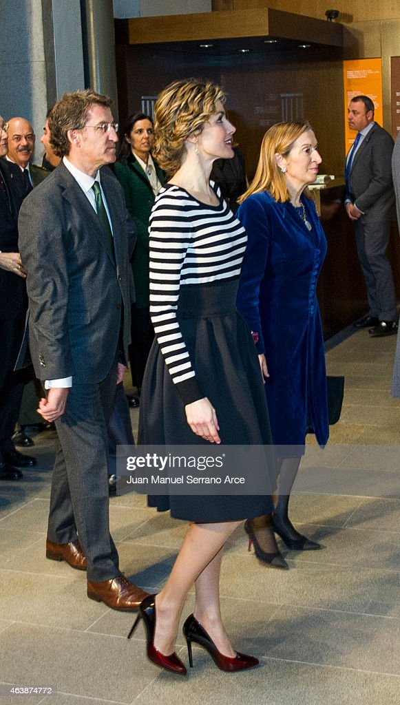 Spanish Royals Visit A Coruna : News Photo