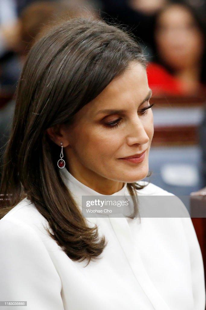 Spanish Royals Visit South Korea - Day 2 : News Photo