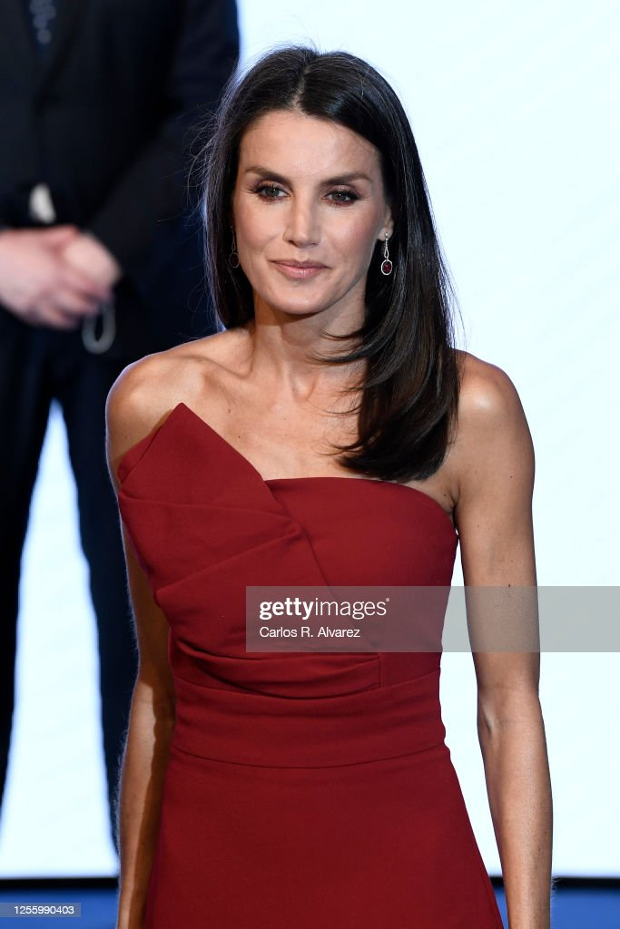 Spanish Royals Attend Dinner Honouring Journalism Awards Winners : Foto di attualità