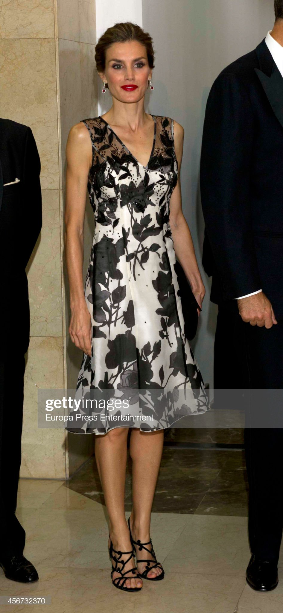 Spanish Royals Attend a Dinner at 'Casa de ABC' in Madrid : News Photo