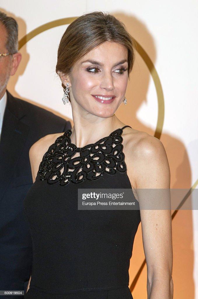 "King Felipe VI Of Spain And Queen Letizia Of Spain Attends ""Mariano De Cavia"" Awards : News Photo"