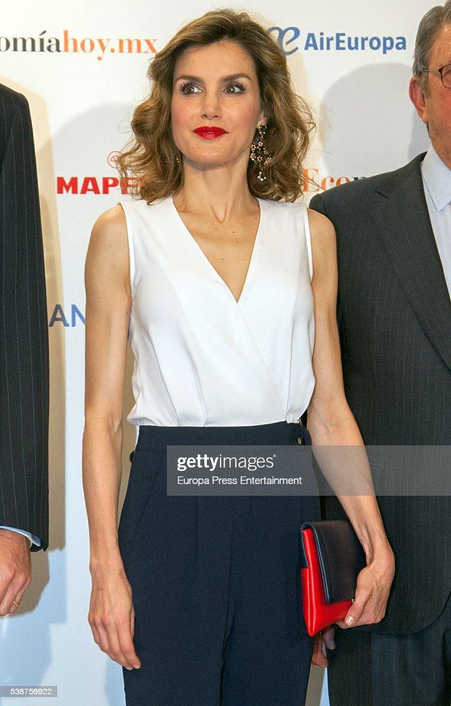 Spanish Royals Attend 'El Economista' 10th Anniversary : News Photo