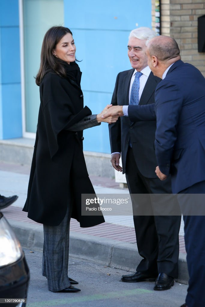 Queen Letizia Of Spain Attends UNICEF Meeting : News Photo
