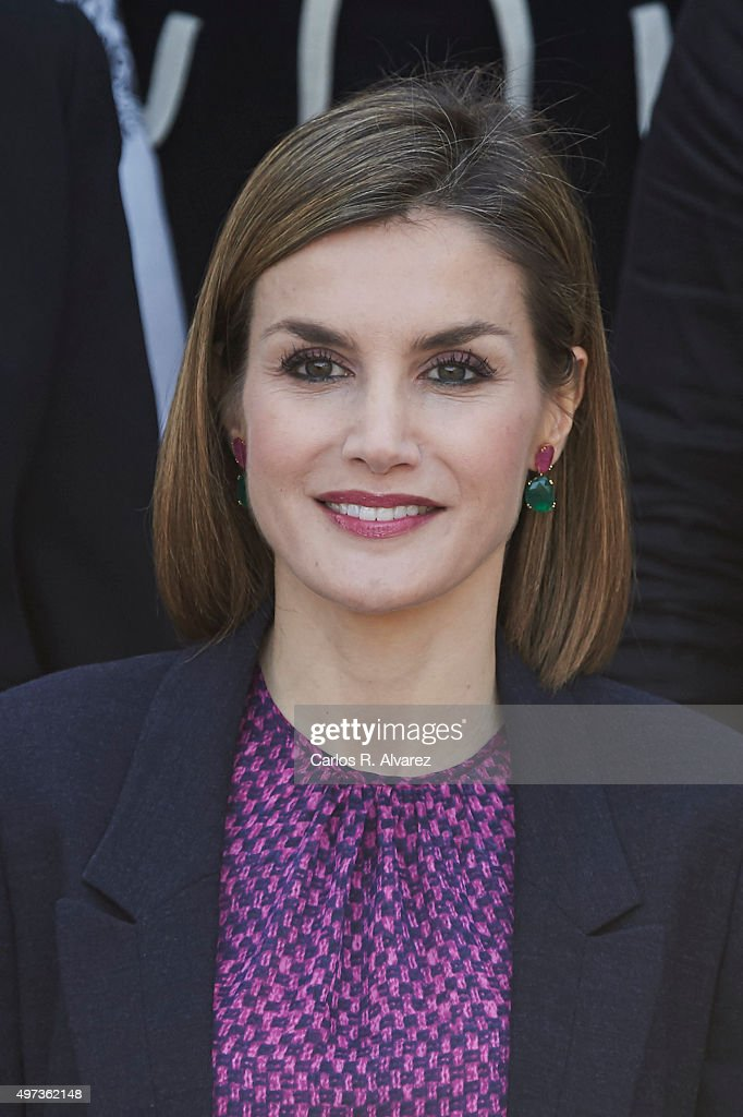 Queen Letizia of Spain Meets 'Mujeres por Africa' Foundation : News Photo
