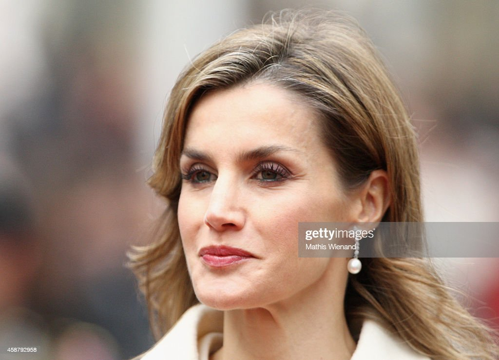 King Felipe VI Of Spain and Queen Letizia Of Spain On A One Day Visit In Luxembourg : News Photo