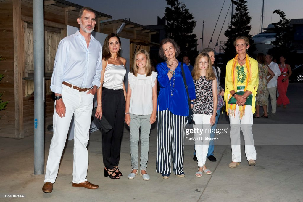 Spanish Royals Attends Ara Malikian Concert