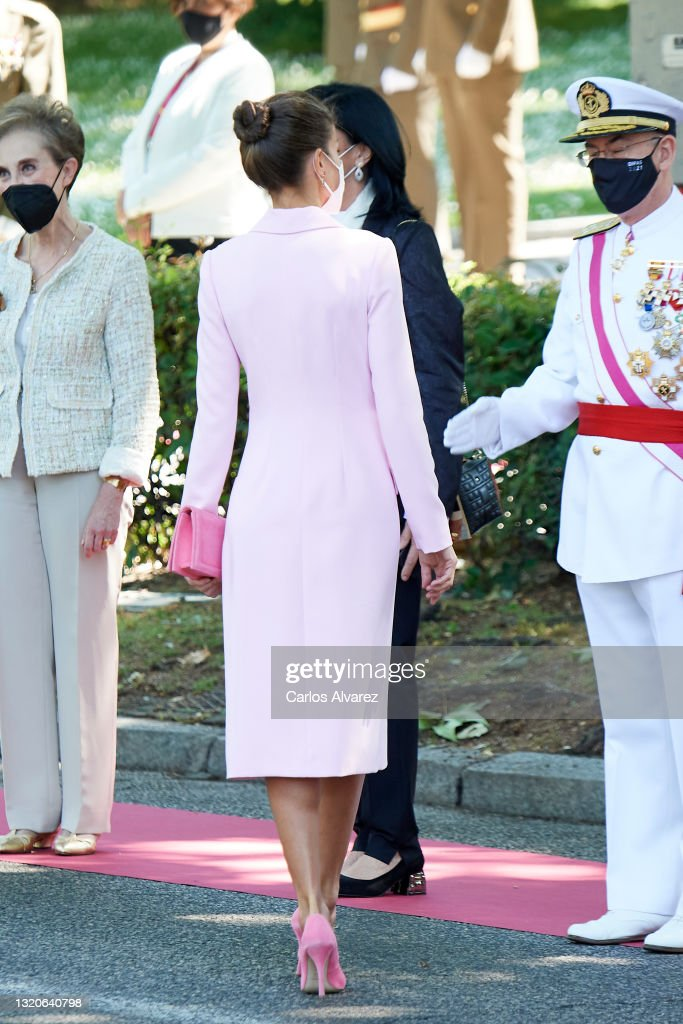 Spanish Royals Attend Armed Forces Day : News Photo