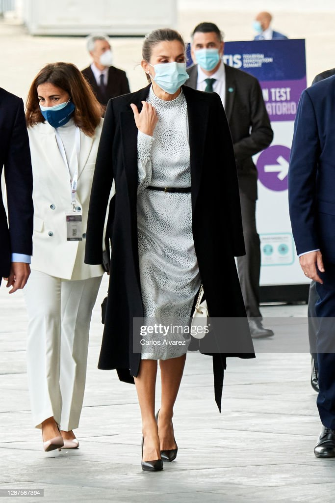 Queen Letizia Of Spain Attends Tourism Innovation Summit 2020 : News Photo