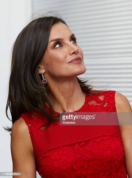 Queen Letizia of Spain attends CEMAS at Marina on July 22 2019 in Valencia Spain