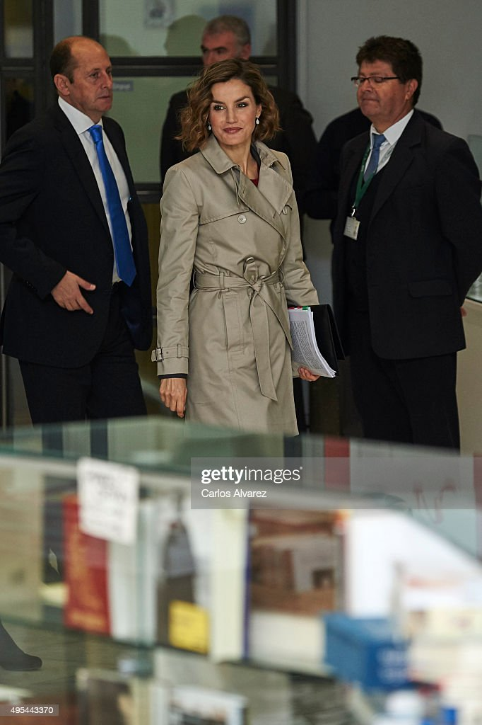Queen Letizia of Spain Attends 'Spanish Cooperation 2030' : News Photo