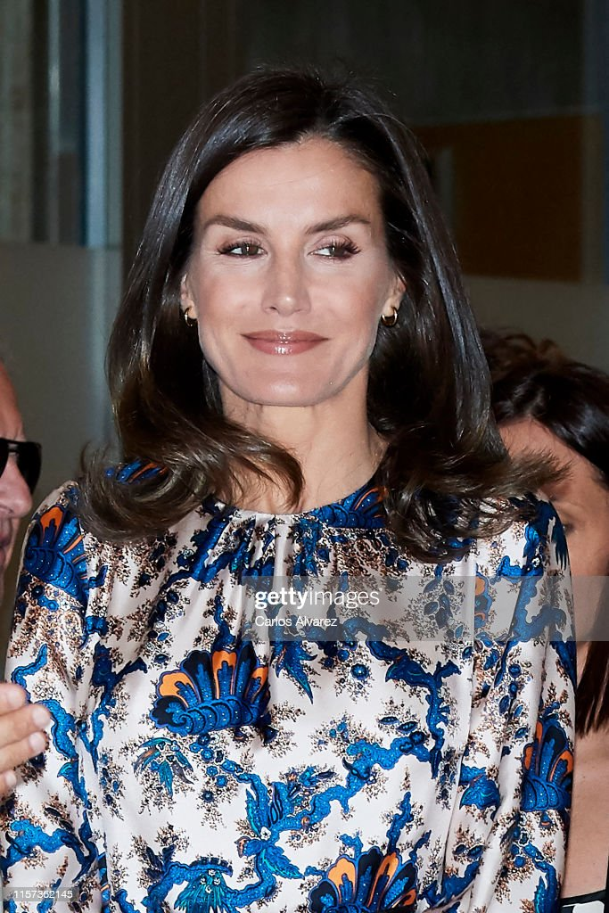 Queen Letizia Of Spain Deliver DISCAPNET Awards : News Photo