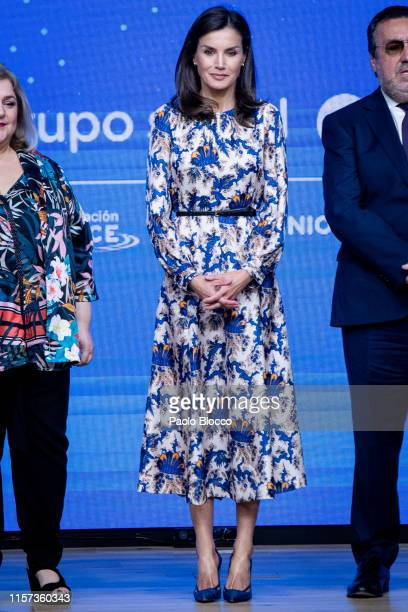 Queen Letizia of Spain attends DISCAPNET awards 2019 on June 21, 2019 in Madrid, Spain.
