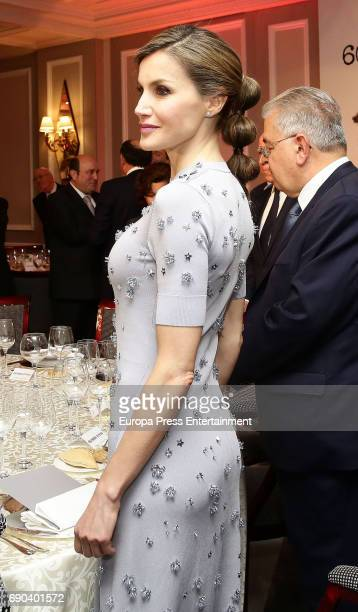Queen Letizia of Spain attends Europa Press news agency 60th Anniversary at the Villa Magna hotel on May 30 2017 in Madrid Spain