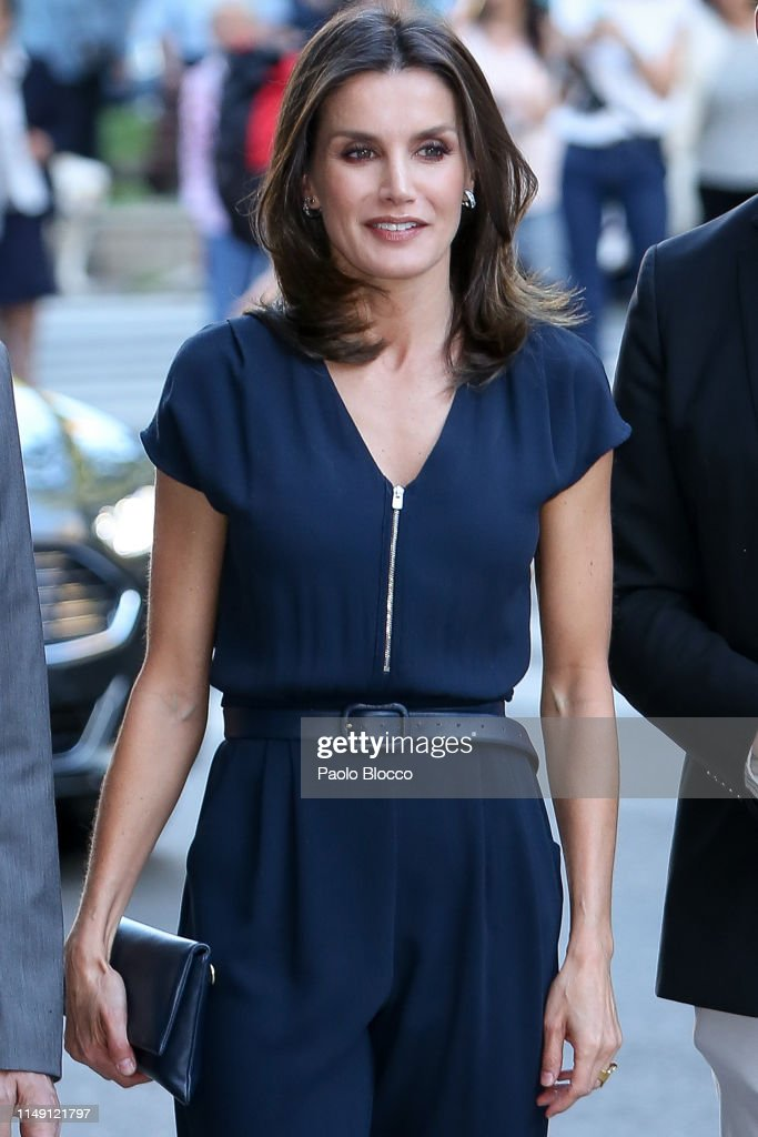 Queen Letizia of Spain Attends 'Famelab' 2019 : News Photo