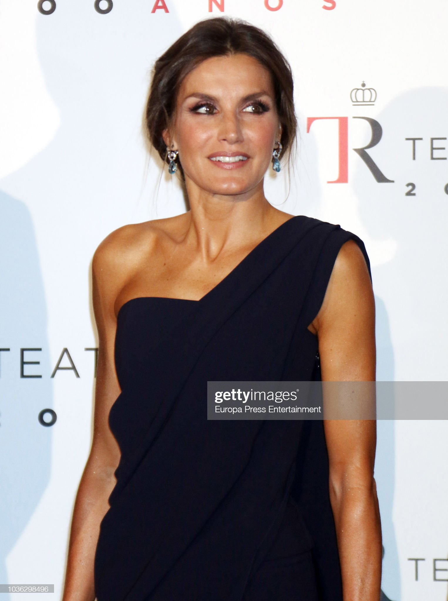 Spanish Royals Attend 'Fausto' At The Royal Theatre : News Photo