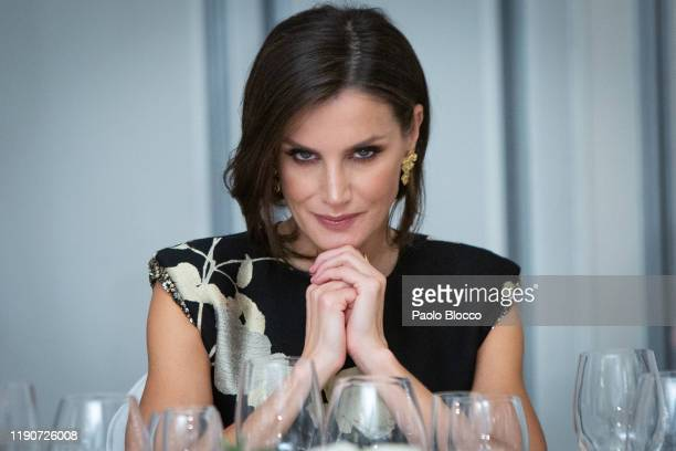 Queen Letizia of Spain attends 'Francisco Cerecedo' Awards 2019 at Westin Palace hotel on November 28, 2019 in Madrid, Spain.