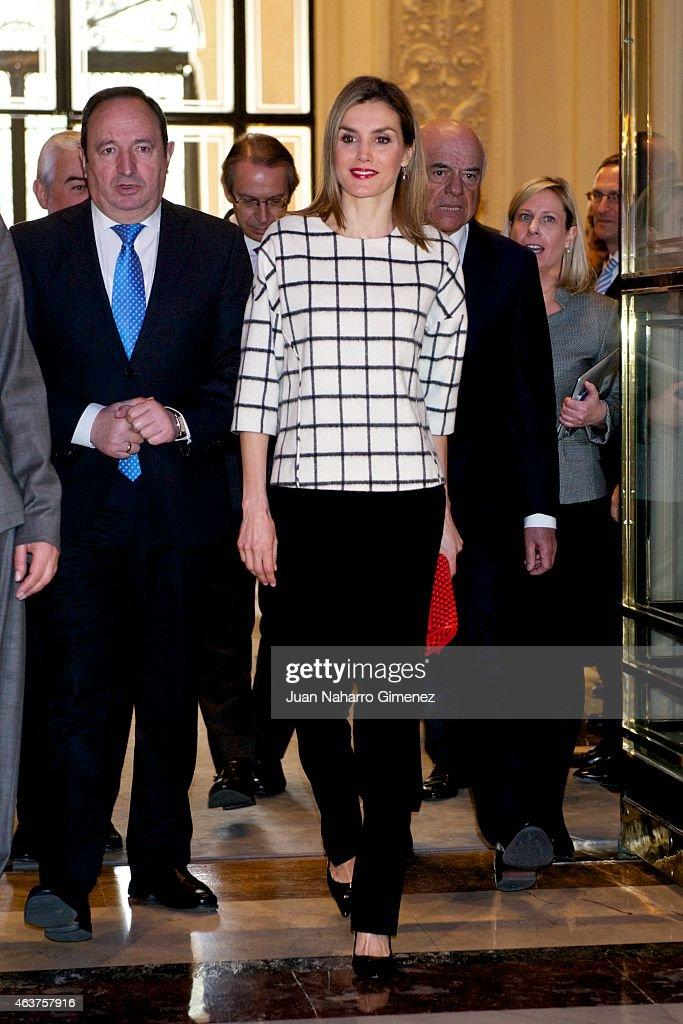 Queen Letizia Attends Fundeu 10th Anniversary : News Photo