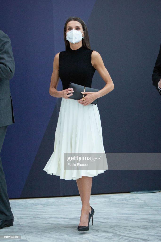 Spanish Royals Attend IFEMA New Brand And Strategy : News Photo