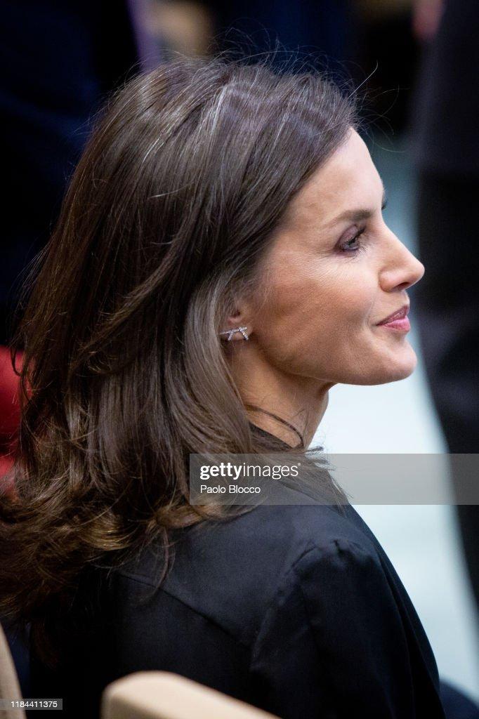 Queen Letizia Of Spain Attends 'Internaitonal Friendship Award' 2019 : News Photo