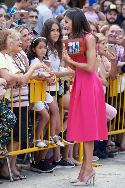 ESP: Queen letizia Of Spain Attends 'Reina Letizia' Awards 2018