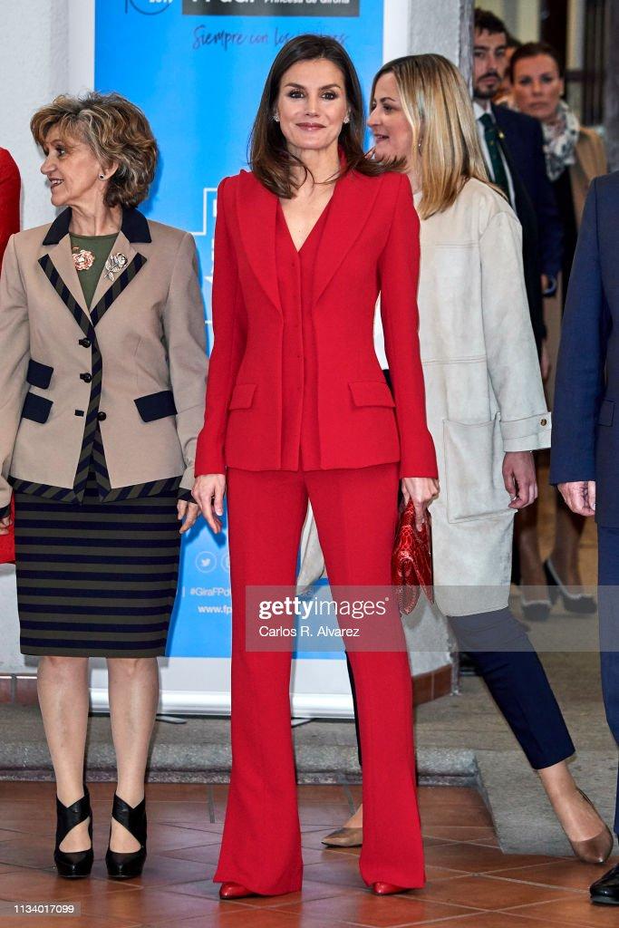 Queen Letizia Of Spain Attends 'Premio Fundacion Princesa De Girona 2019' In Caceres : News Photo