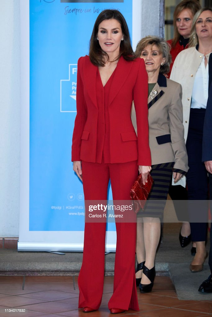 Queen Letizia Of Spain Attends 'Premio Fundacion Princesa De Girona 2019' In Caceres : News Photo