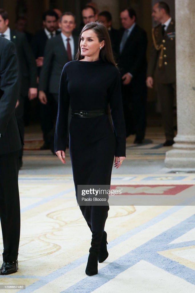 Spanish Royals Deliver 'Premios Nacionales De Investigacion' 2019 : News Photo