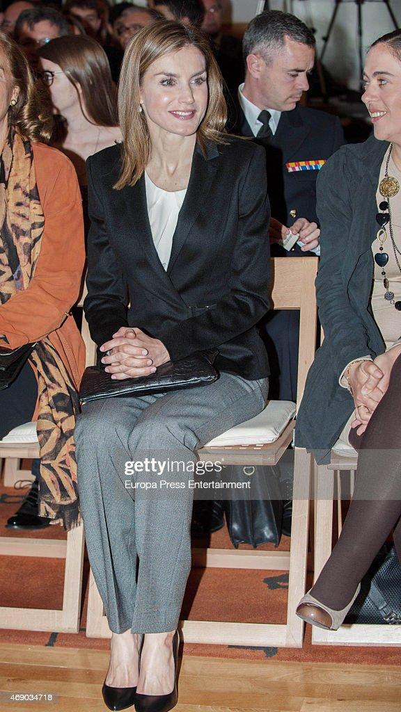 Queen Letizia of Spain Attends 'Princess of Girona' Awards : News Photo