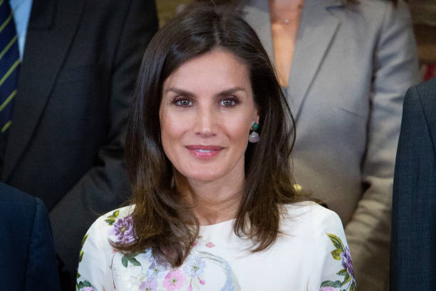 ESP: Spanish Royals Attends Audiences At Zarzuela Palace