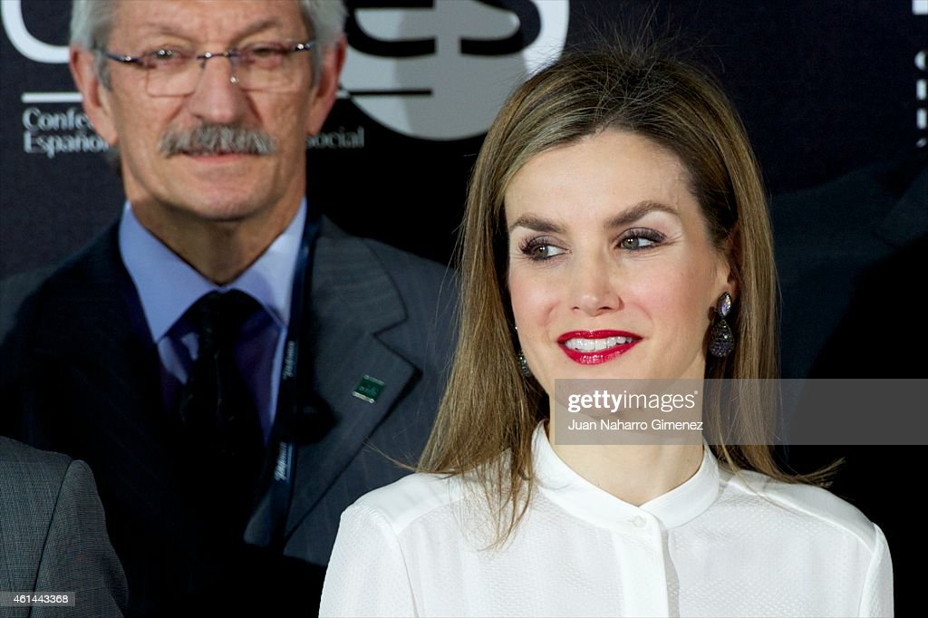Queen Letizia of Spain Attends 'Telefonica Ability Awards' 2015 : News Photo