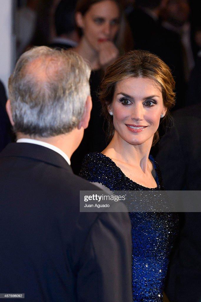 Spanish Royals Attend 25th Anniversary of 'El Mundo' Newspaper : News Photo
