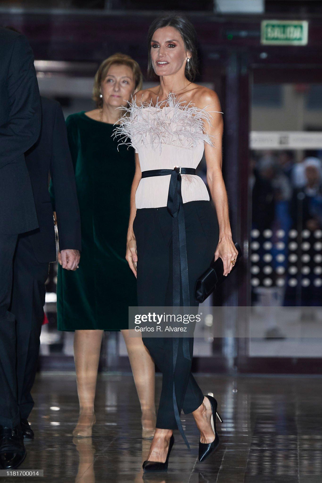 Spanish Royals Attend Princess of Asturias Awards Concert 2019 : News Photo