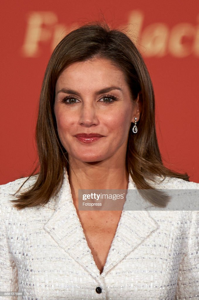 Queen Letizia of Spain attends the 29th Rey Jaime I' awards at Lonja de los Mercaderes on October 30, 2017 in Valencia, Spain.