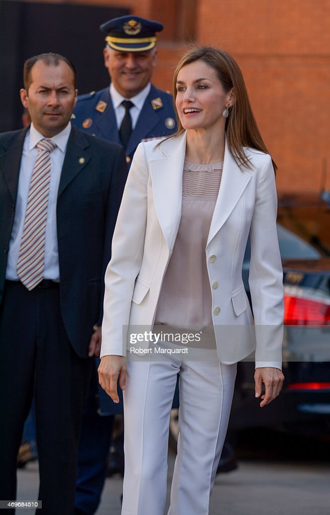 Queen Letizia of Spain Attends the 2nd Congress of Rare Childhood Diseases : News Photo