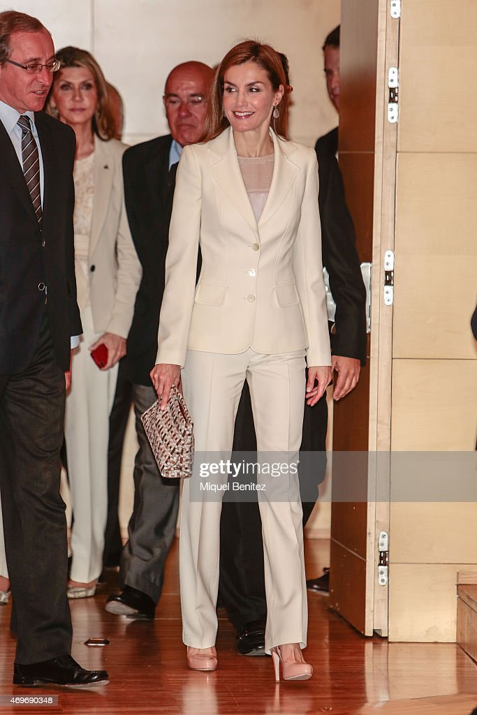 Queen Letizia of Spain Attends the 2nd Congress of Uncommon Diseases : News Photo