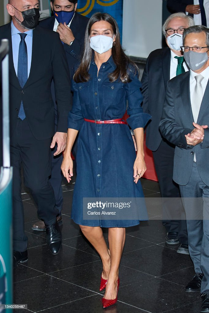Queen Letizia Attends The 50th Anniversary Of The Creation Of The UCM Faculty of Information Sciences : News Photo