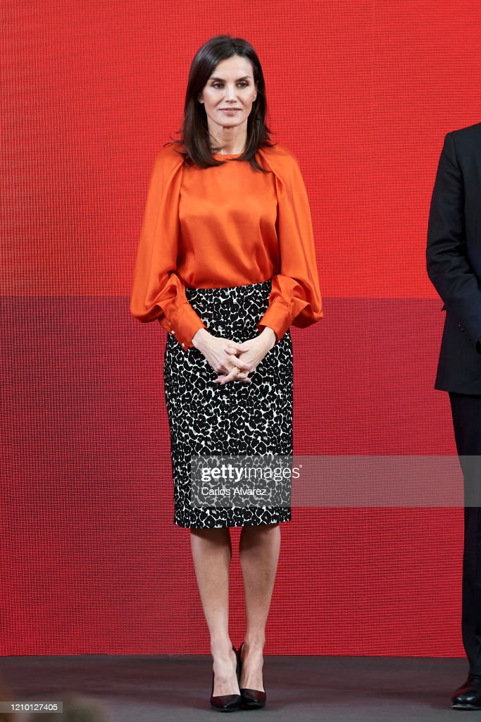 Spanish Royals Deliver Accreditations On The 8th Promotion Of Honorary Ambassadors For 'Spain' Brand : News Photo
