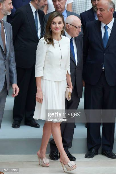Queen Letizia of Spain attends 'The Art of Educating' school program at El Prado Museum on June 19 2017 in Madrid Spain