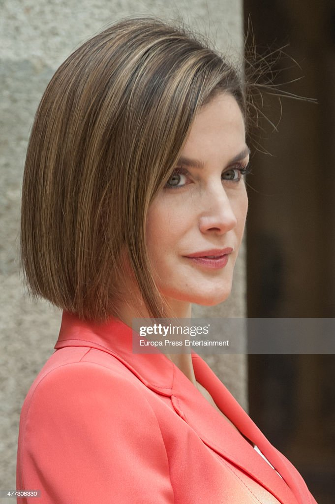 Queen Letizia of Spain attends the bicentenary of the Council of The Greatness of Spain on June 16, 2015 in Madrid, Spain.
