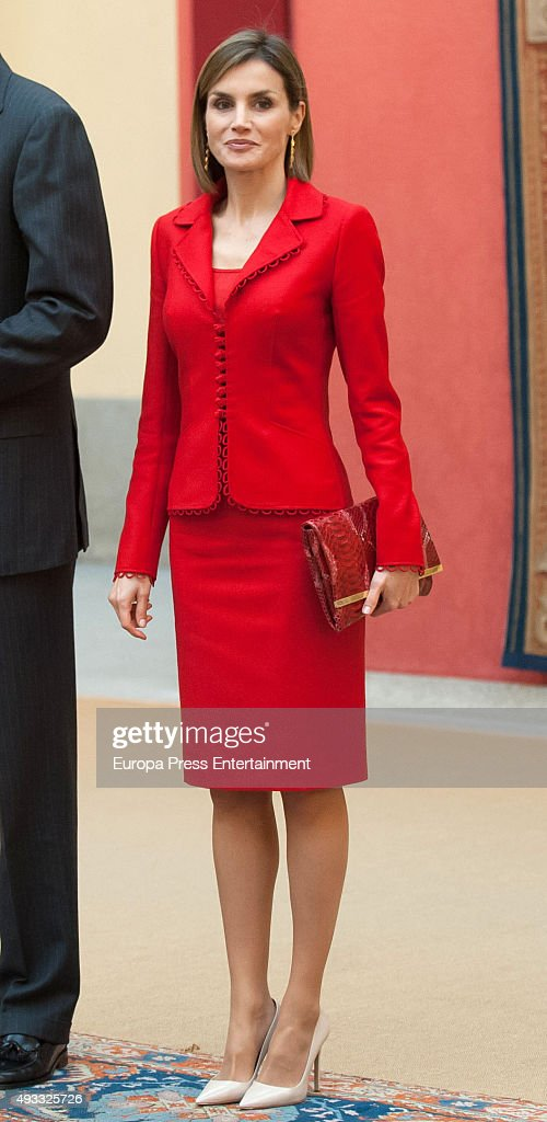 Spanish Royals Attend the Cervantes Institute Annual Meeting : ニュース写真