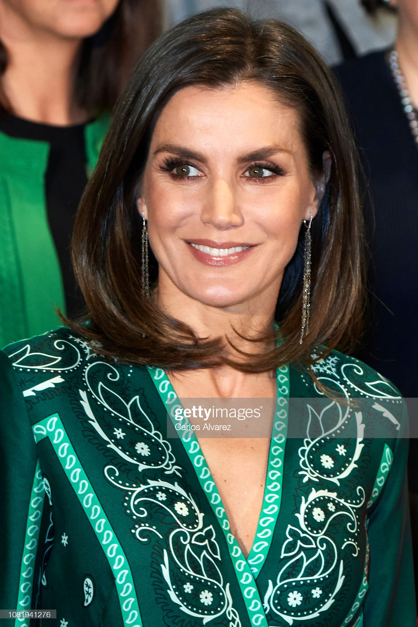 Queen Letizia of Spain Attends The Closure Of AFAMMER International Congress : News Photo