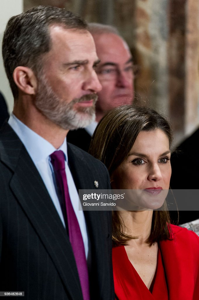 Spanish Royals Attend The Commemoration of Capitulations of Valladolid