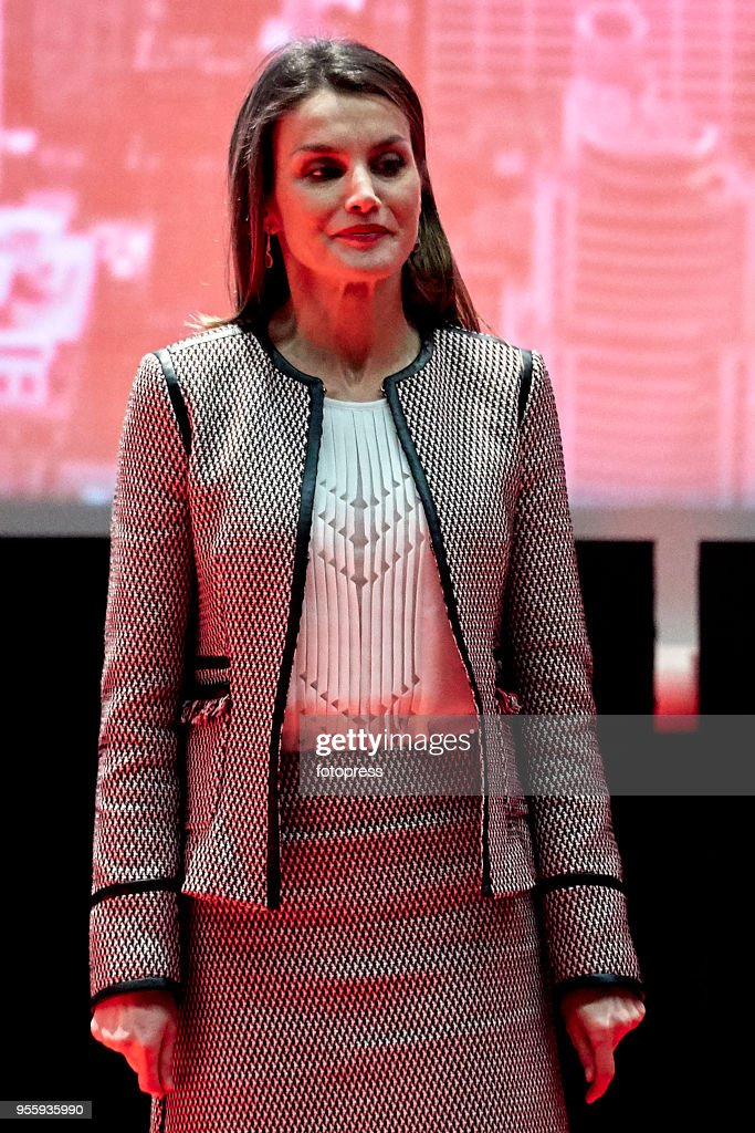 Queen Letizia of Spain Attends The Commemorative Act Of The World Red Cross Day : News Photo