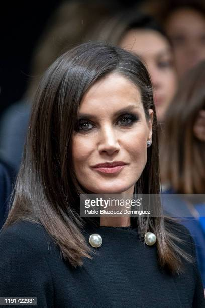Queen Letizia of Spain attends the COP25 Climate Submmit at IFEMA Madrid on December 03 2019 in Madrid Spain