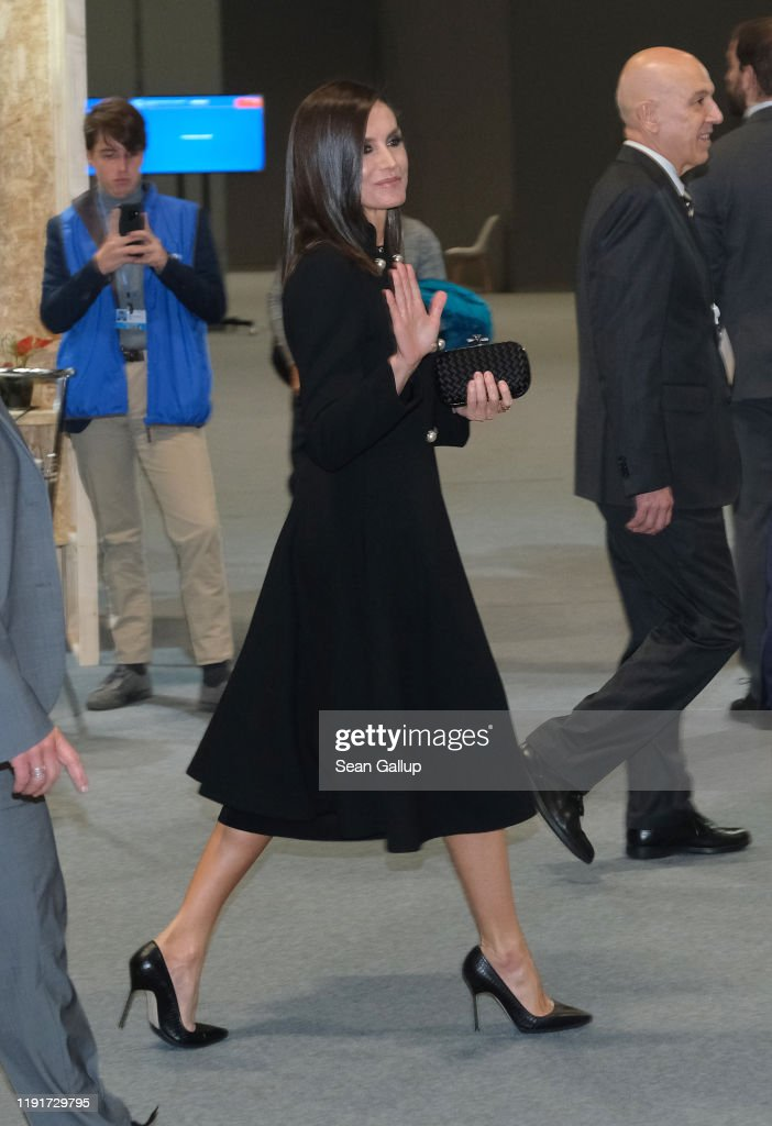 Queen Letizia Of Spain Attends The COP25 In Madrid : News Photo