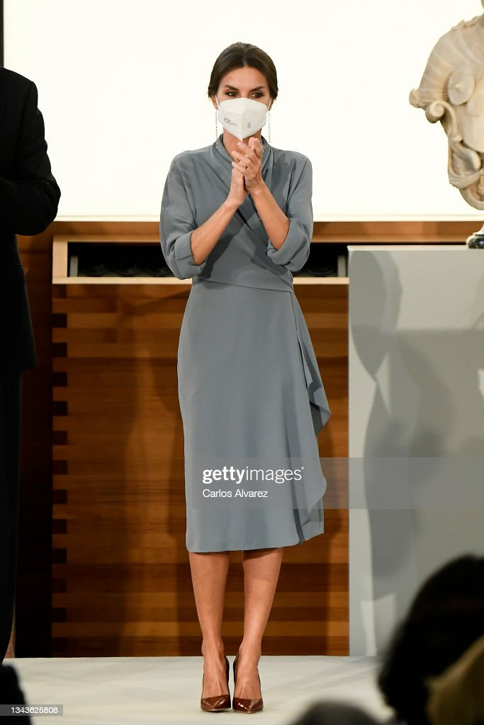 Spanish Royals Deliver National Culture Awards 2018 And 2019 : News Photo