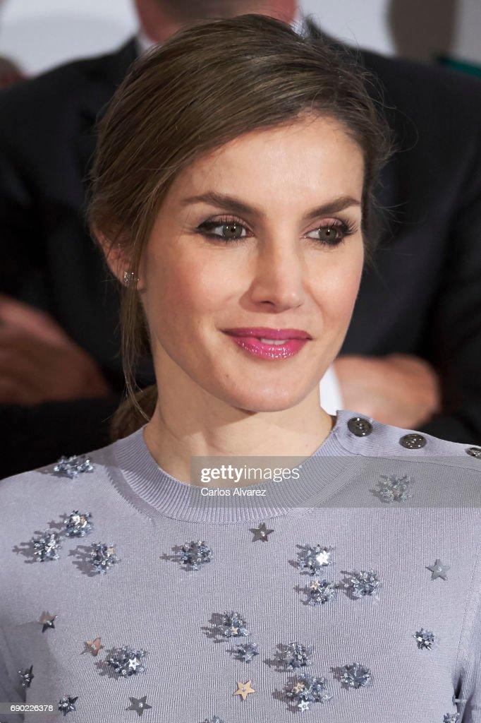 Spanish Royals Attend 60th Anniversary Of Europa Press Agency : Nyhetsfoto