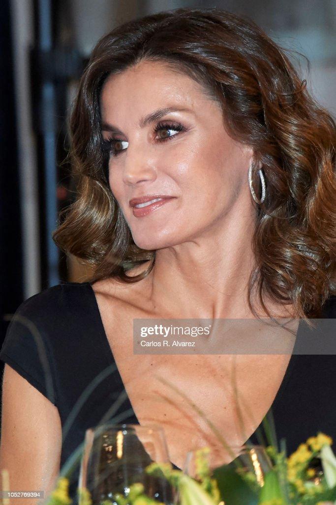 Spanish Royals Attend 'Francisco Cerecedo' Journalism Awards 2018 : News Photo