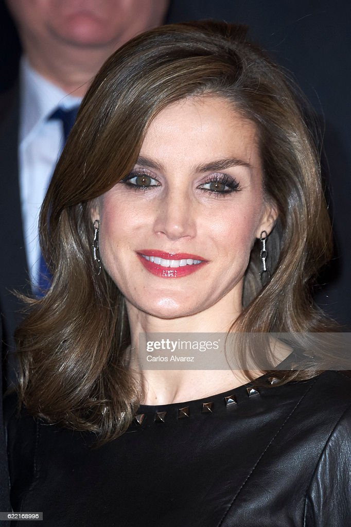 Spanish Royals Attend 'Francisco Cerecedo' Journalism Awards 2016 : News Photo