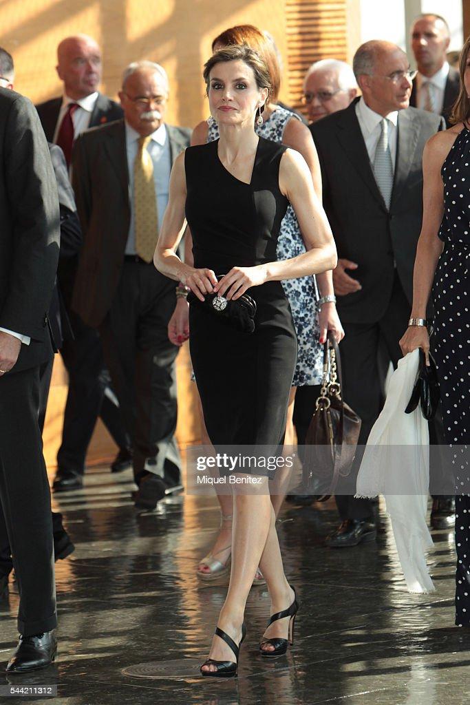 Spanish Royals Attend 'Princesa de Girona' Foundation Awards : News Photo